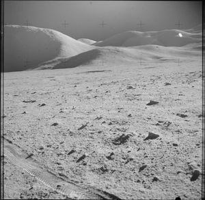 Månen kan snart bli invadert av de første private aktørene. Dette er et av de høyoppløste bildene som NASA nylig slapp.
