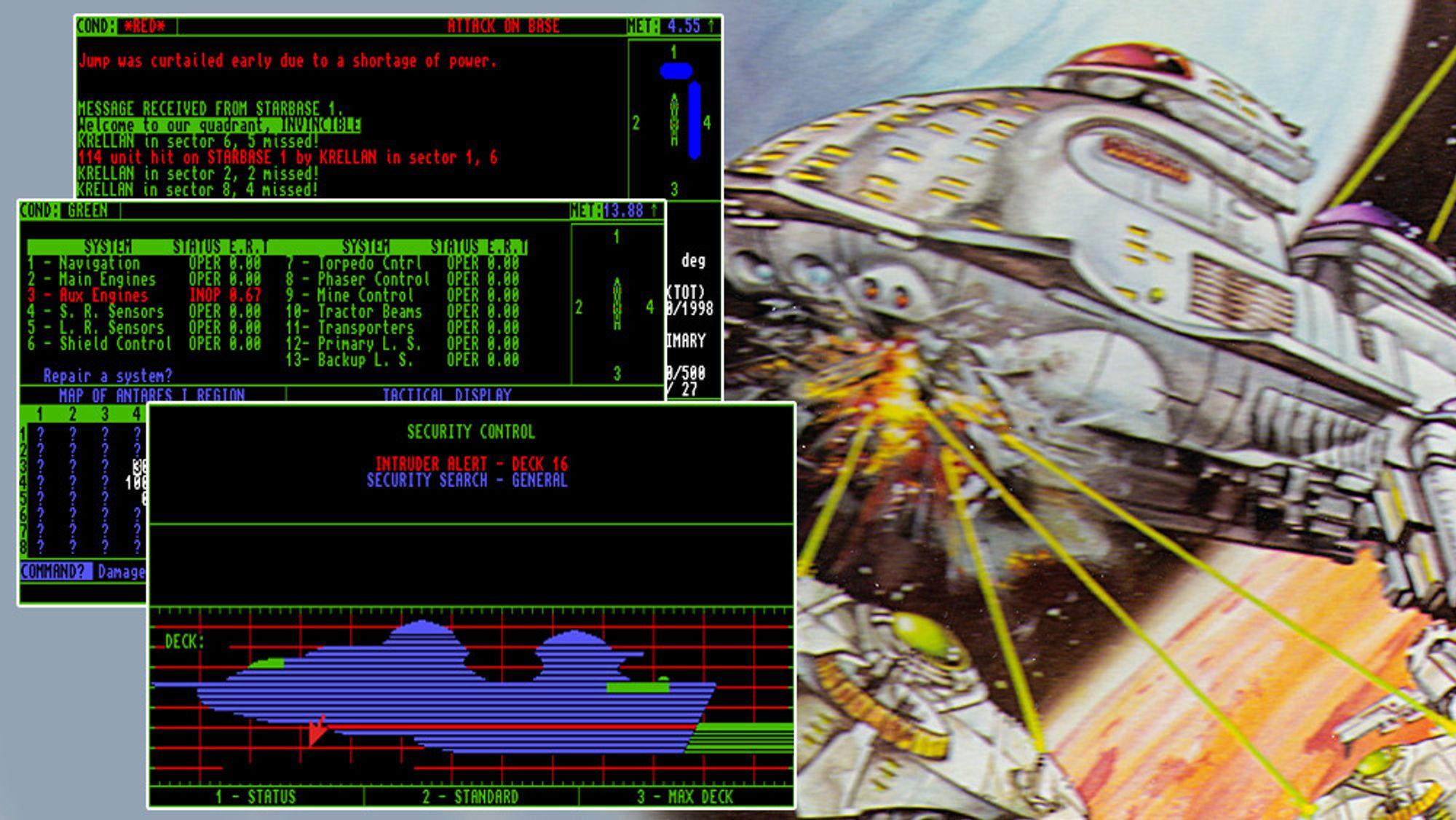 TILBAKEBLIKK: Bli med når vi tester et 30 år gammelt romstrategispill