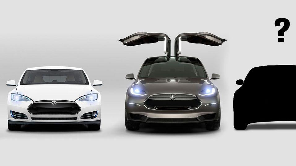 Illustrasjonsbilde. Blir Model Y Teslas fjerde modell?