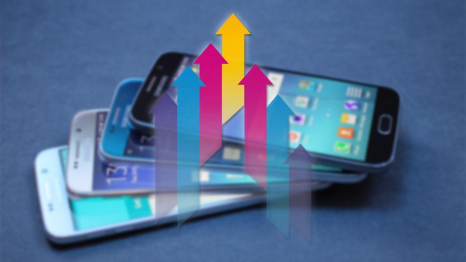 Nå går det oppover for Samsung, og Galaxy S6 er en del av forklaringen.