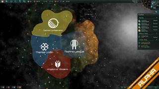 Oversiktskartet gir et greit bilde av hvem som styrer hvor. (Bilde: Paradox Interactive).