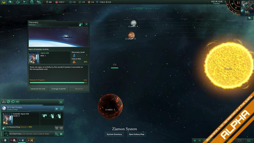 Her har noen funnet tegn på en eldgammel sivilisasjon. (Bilde: Paradox Interactive).