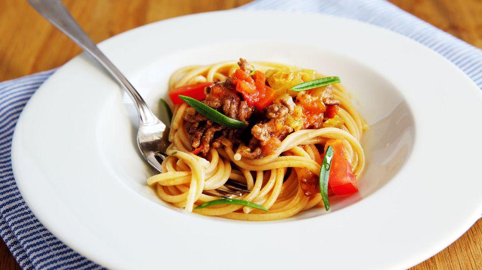 Prøv denne pastasausen