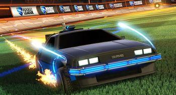 Snart får du denne ikoniske bilen i Rocket League