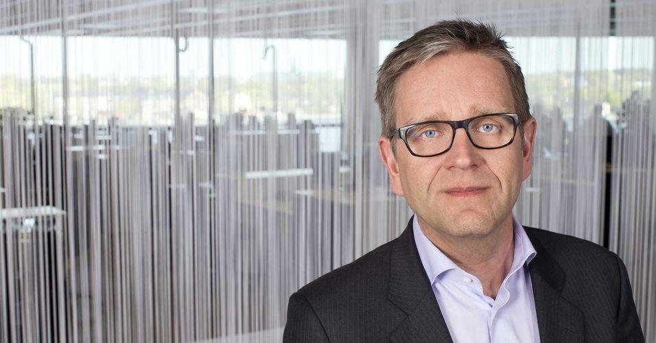 Direktør for Telenors satsing på tingenes Internett, Per Simonsen, forklarer at det kom flest bidrag i konkurransen fra Sverige.