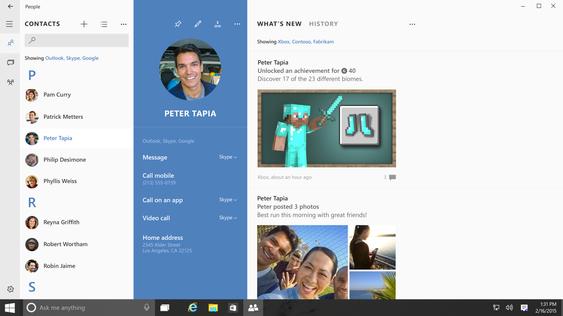 Skype-funksjoner vil bli integrert i meldingsappen.