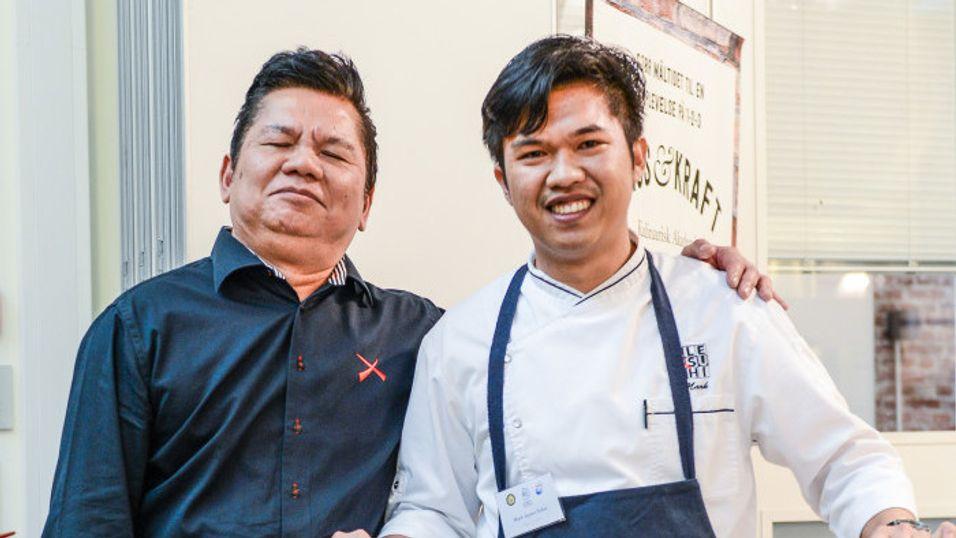 BRANSJE: Alex Sushi har landets beste sushikokk