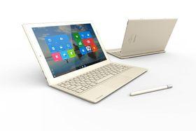 Toshiba lanserte også nylig det supertynne Windows-nettbrettet DynaPad.