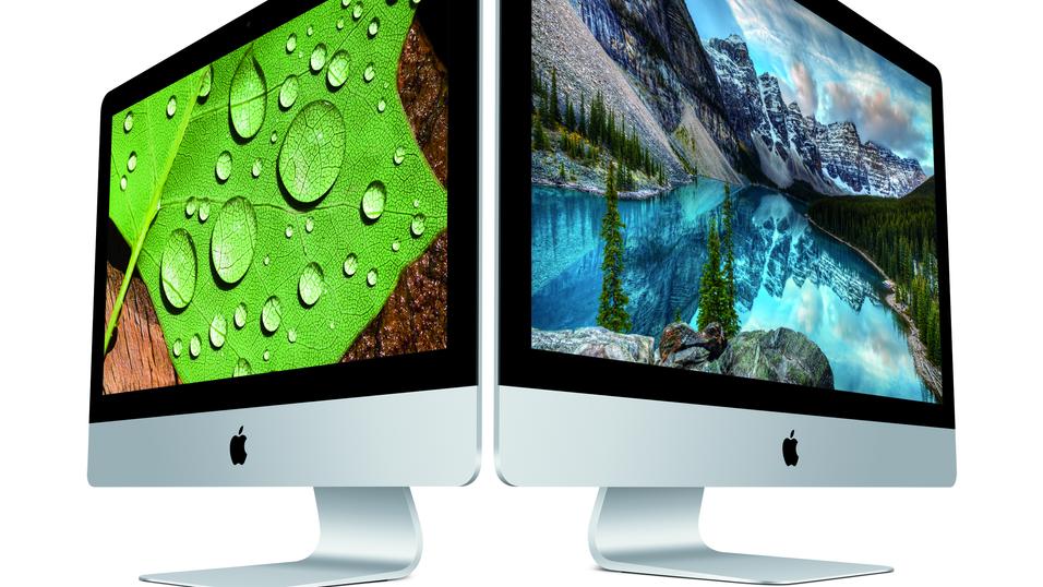 Både 21,5- og 27-tommersutgaven av iMac får nå kraftige oppgraderinger.