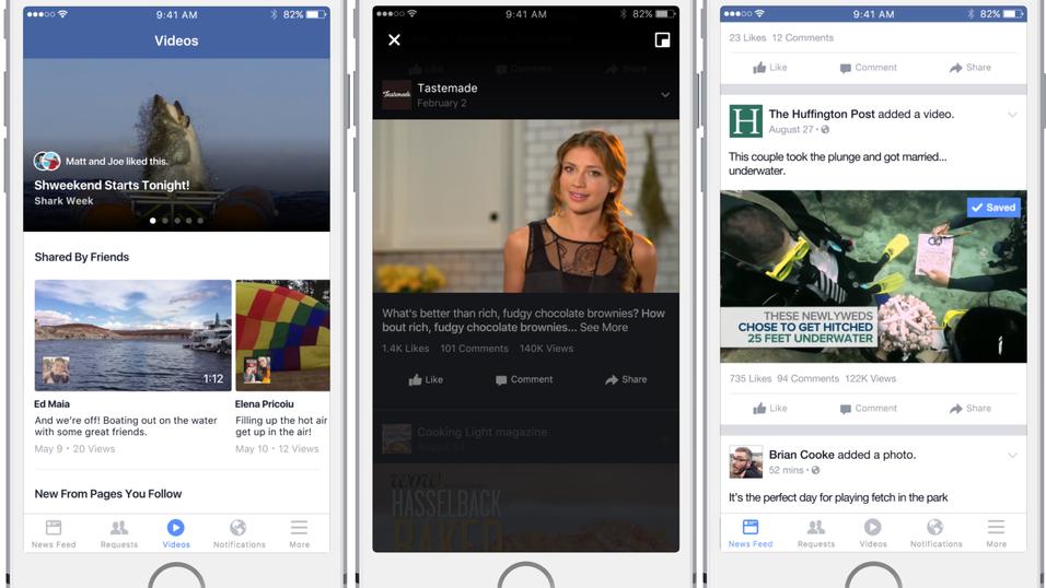 Snart skal Facebook få en ny videofunksjon