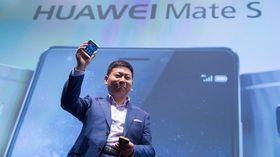 Huawei Mate S er første lanserte Android-mobil med trykkfølsom skjerm.
