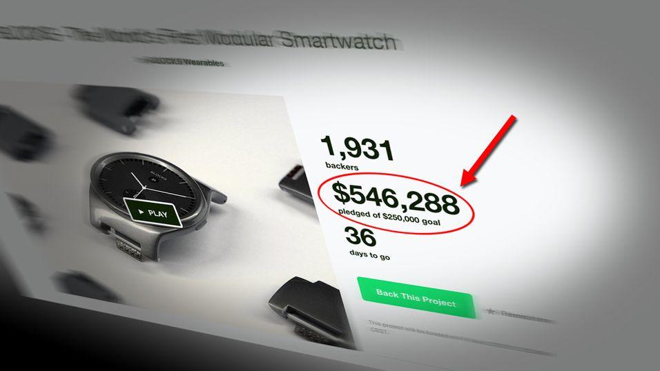 På kort tid hadde Blocks samlet inn nærmere 540 000 dollar – langt over målet på 250 000.