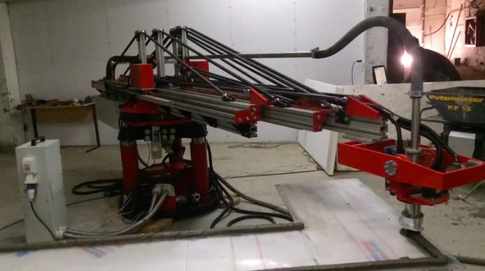 Den nye 3D-skriveren fra Apis Cor.