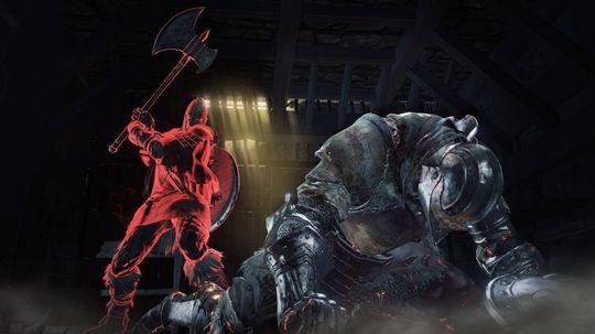 Jeg fikk ikke prøve flerspiller i Dark Souls III.