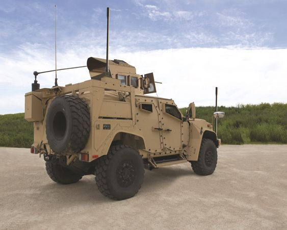 JLTV-prototyp fra Oshkosh Defense.