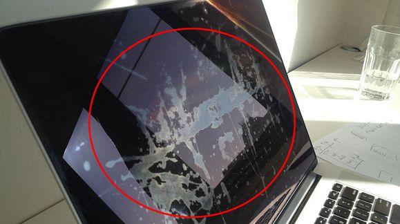 Ser Mac-skjermen din slik ut?
