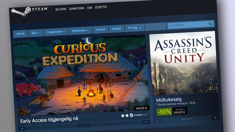 Steam har satt ny rekord for samtidige brukere