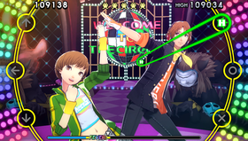 Persona 4: Dancing All Night lar deg danse som figurene fra Persona 4.