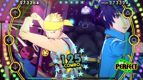 Galskap og dansing i Persona 4: Dancing All Night.