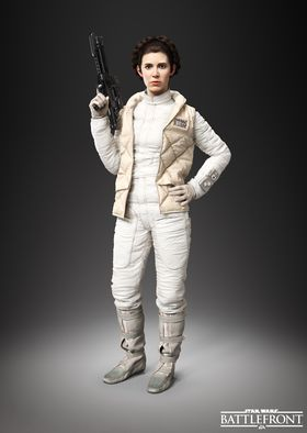 Prinsesse Leia.