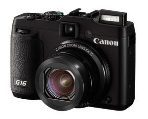 Canon PowerShot G16.