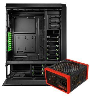 Premiepakken består av kabinettet Antec Nineteen Hundred og strømforsyningen Antec Edge 650.