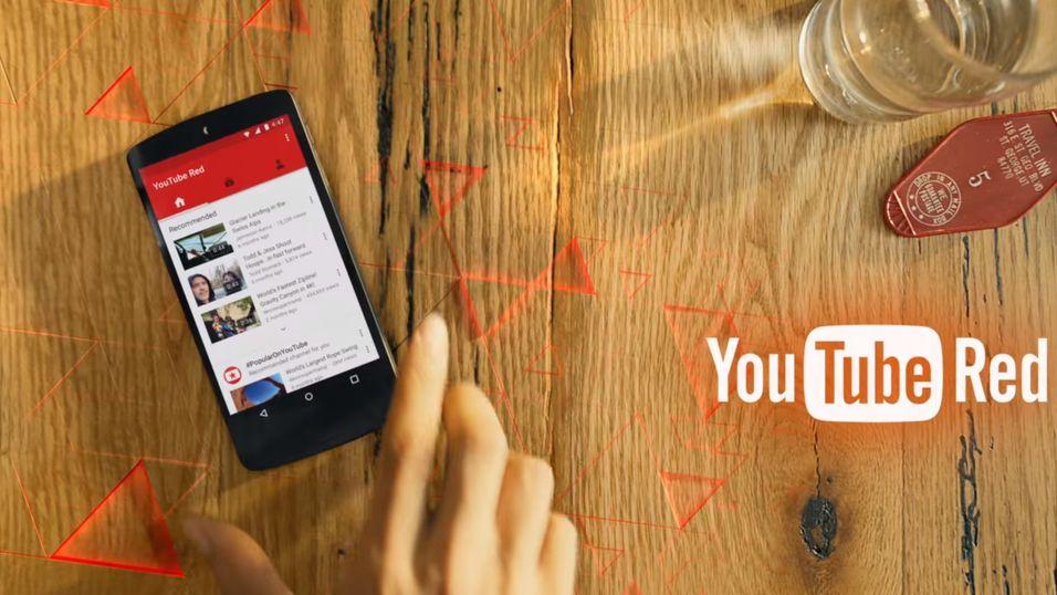 TechCrunch melder at Google bruker hard mynt for å få produsentene over på YouTube Red