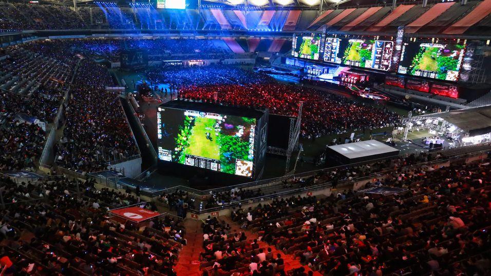 Verdensmesterskapet i 2014 ble avholdt i Sangam Stadium i Seoul.