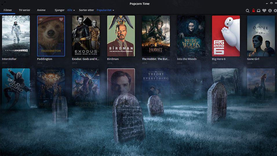 Popcorn Time ser ut til å være gravlagt for nå, og det er det MPAA som er ansvarlige for.