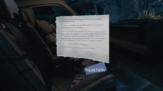 Mye av historien formidles med tekst, men dersom du sliter litt med synet kan det tidvis være vanskelig å lese den.