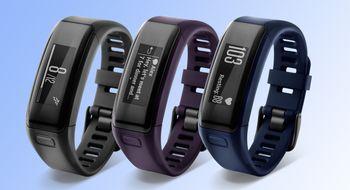 Garmins nye smartarmbånd har touchskjerm og måler pulsen