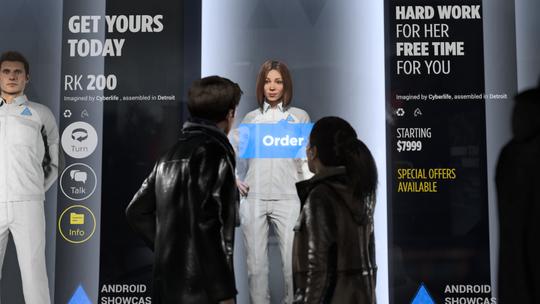 I Detroit: Become Human lever mennesker og androider side om side.
