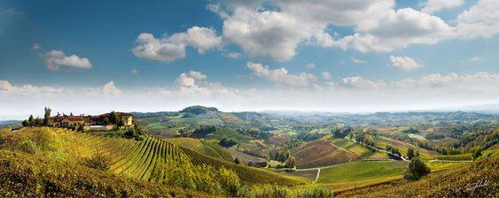 Cognos vinkjeller ligger i Novello, midt i Barolo-paradis.