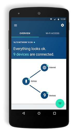 Googles app skal gjøre OnHub enklere å sette opp en tradisjonelle rutere.
