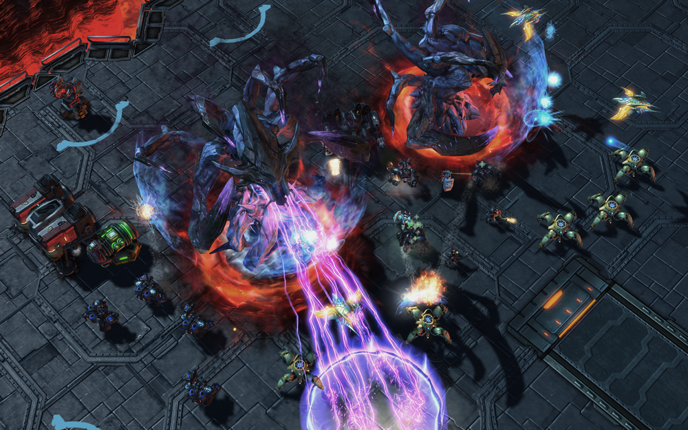 StarCraft II: Legacy of the Void.