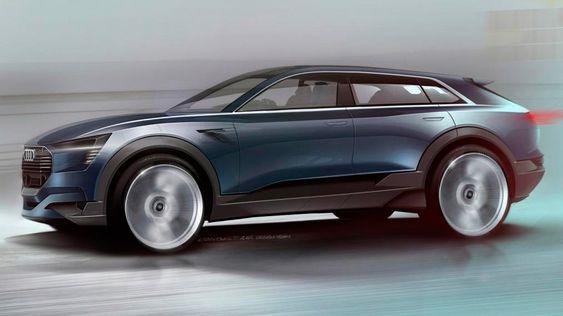 Audi skal vise frem et elektrisk SUV-konsept under bilmessen i Frankfurt.