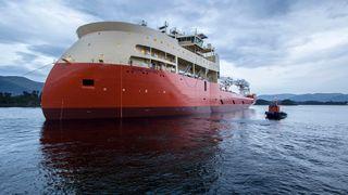 Ulstein har sjøsatt sitt største skip noensinne
