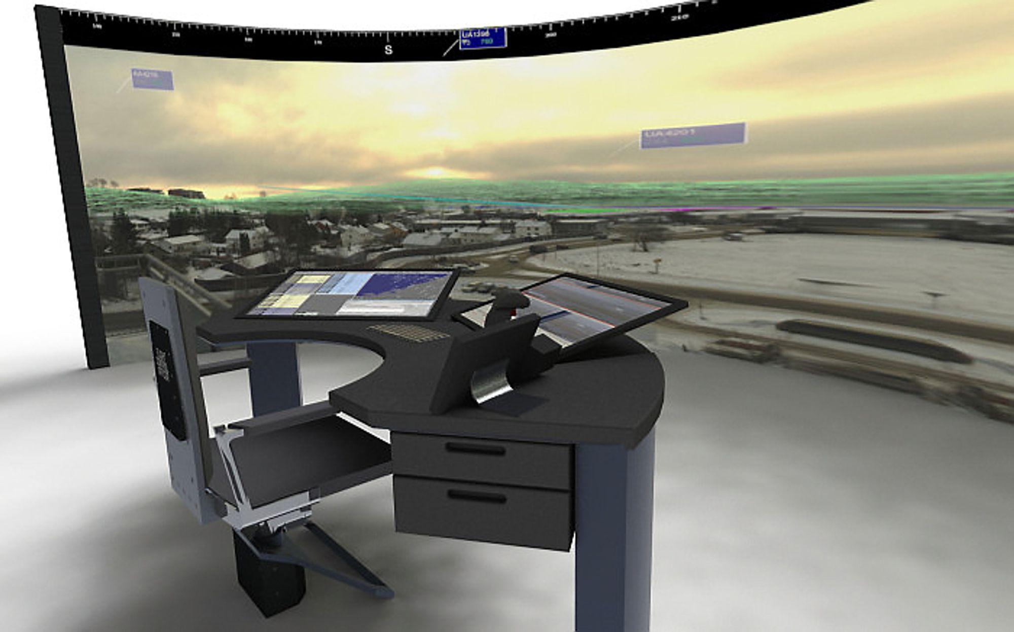Kongsberg og Indra Navia skal i første omgang forsyne Avinor med systemer for fjernstyring av tårntjenesten på 15 flyplasser.