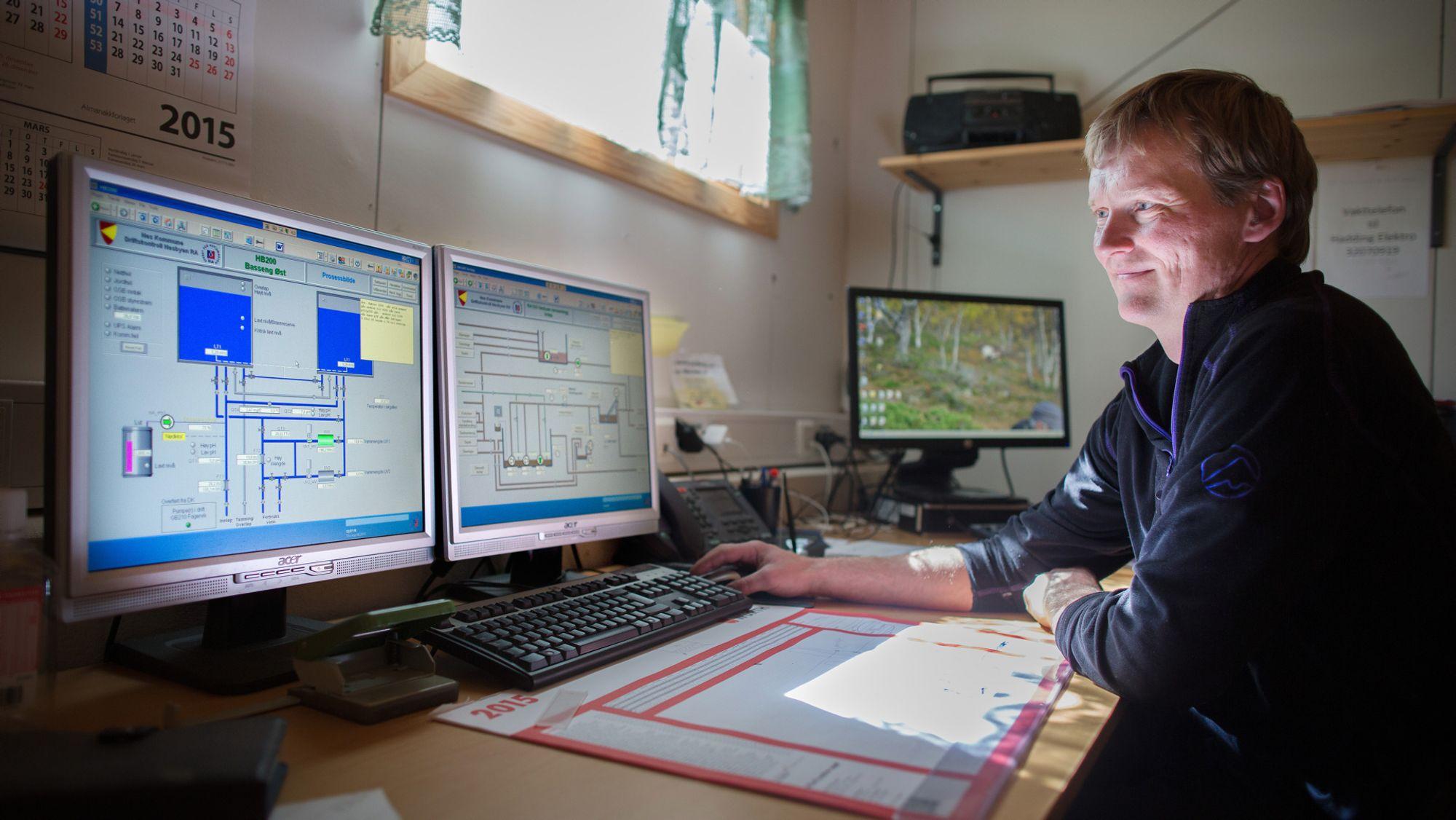 Bærum kommune vann og avløp kart