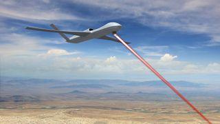 Droner med laserkanoner er USAs nye forsvarssystem