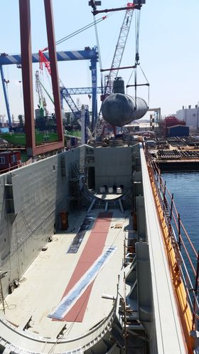 Yara Gerda og søsterskipene Yara Frøya og Yara Embla er bygget om fra bulkskip til gasskip. CO2 kjøles ned til -25 grader under 15 bars trykk og fraktes flytende.