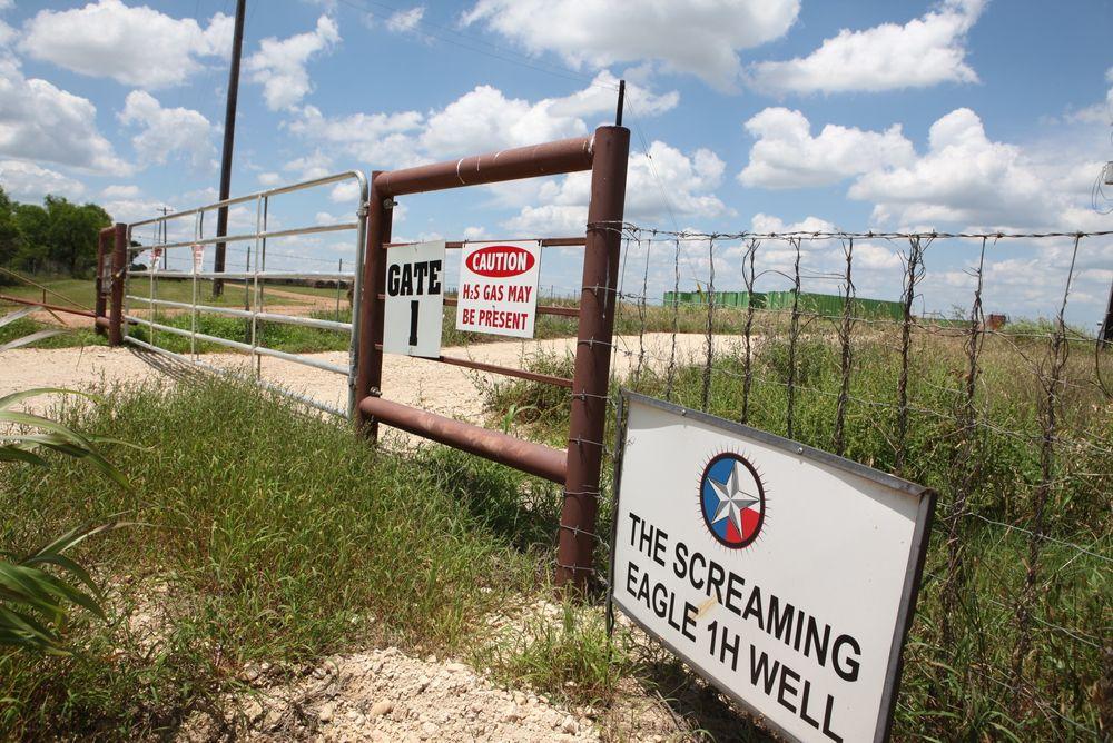Oljeselskaper i USA vil ta i bruk toalettvann til frackingoperasjoner. Illustrasjonsfoto