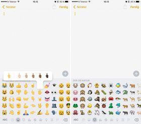 Enten du vil sende noen en enhjørning eller en finger kan du nå gjøre det. Apples emoji-tastatur har fått mer innhold.