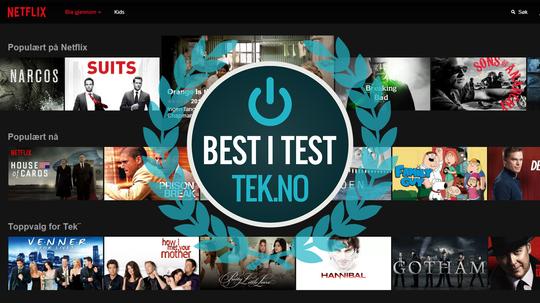 Netflix er fortsatt den beste strømmetjenesten når det kommer til populært innhold.