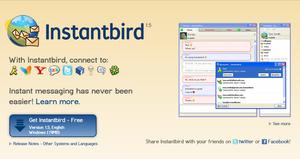 Tor Messenger er basert på det eksisterende Instantbird-programmet.