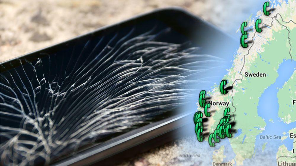 GUIDE: Her får du mobilen fikset på timen