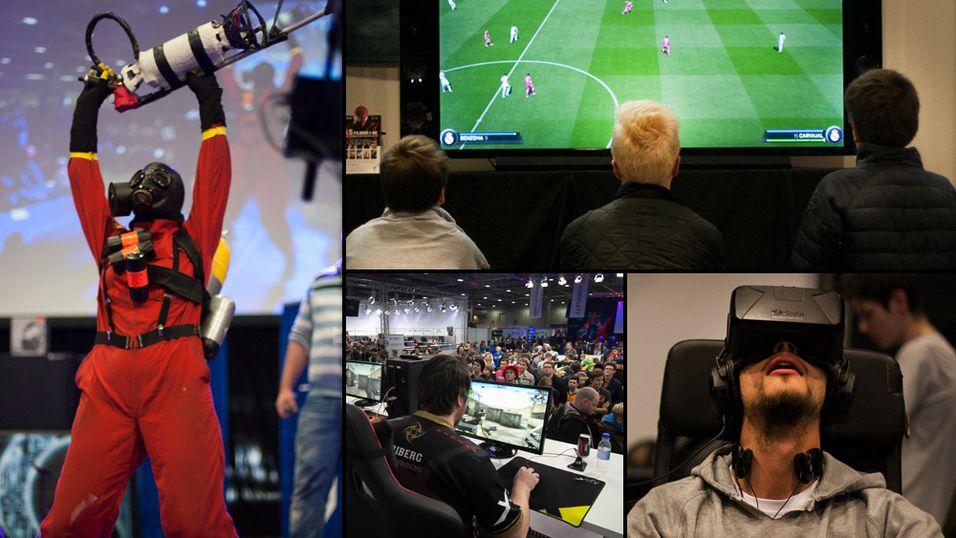 Norges største spillmesse åpner dørene til helgen
