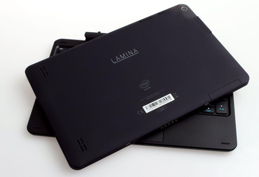 Lamina T-1010B kan du altså bruke separat eller sammen med tastaturbasen.