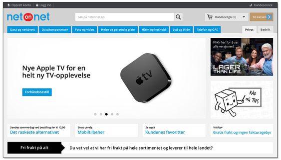 Nettbutikker med fri frakt til norge