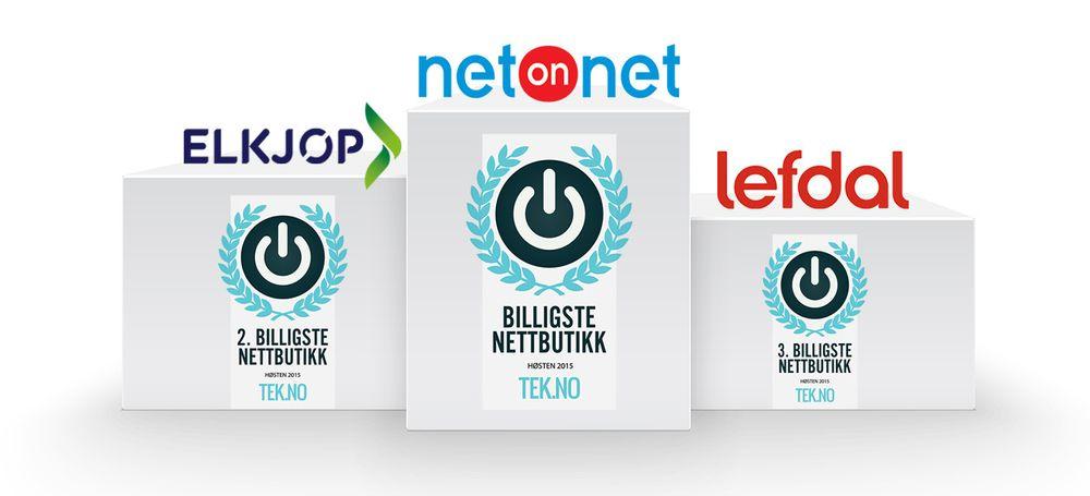 bffb8787b TEST: Her er Norges billigste nettbutikk - Tek.no